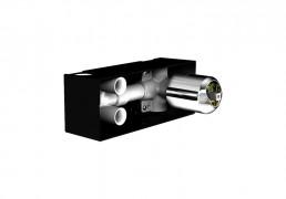 Artema Style X Ankastre Banyo Bataryası-3 Yollu / Ankastre Duş Bataryası-2 Yollu A40671 Ankastre Banyo Bataryası